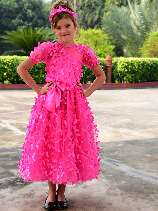 Lillian Gown HotPink