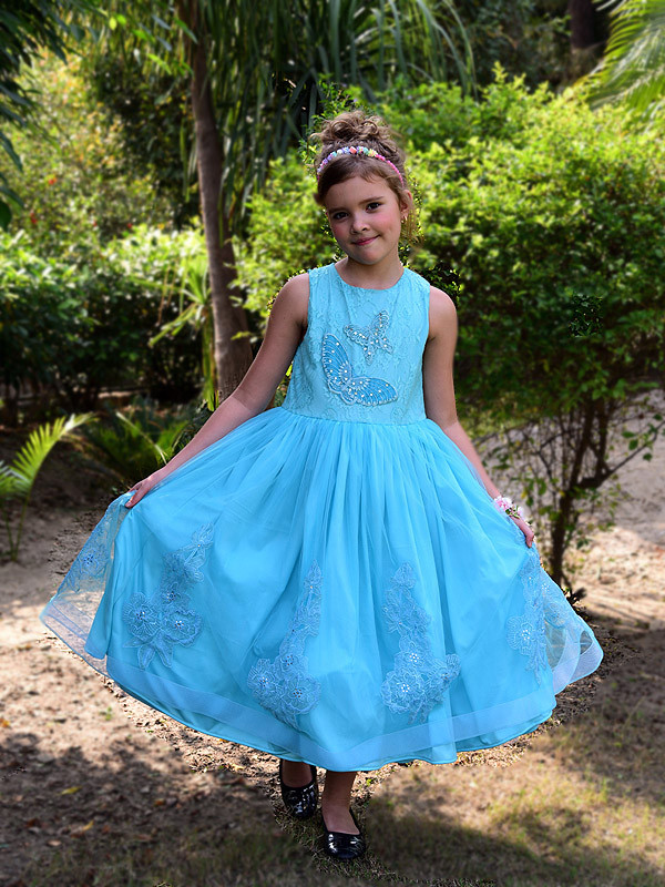 Alexandra Dress IceBlue