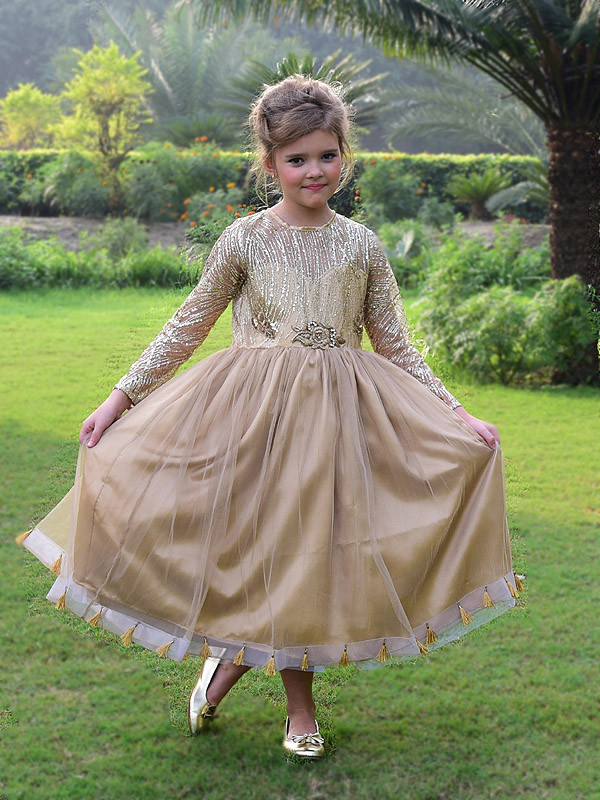 Makayla Dress Golden Oat