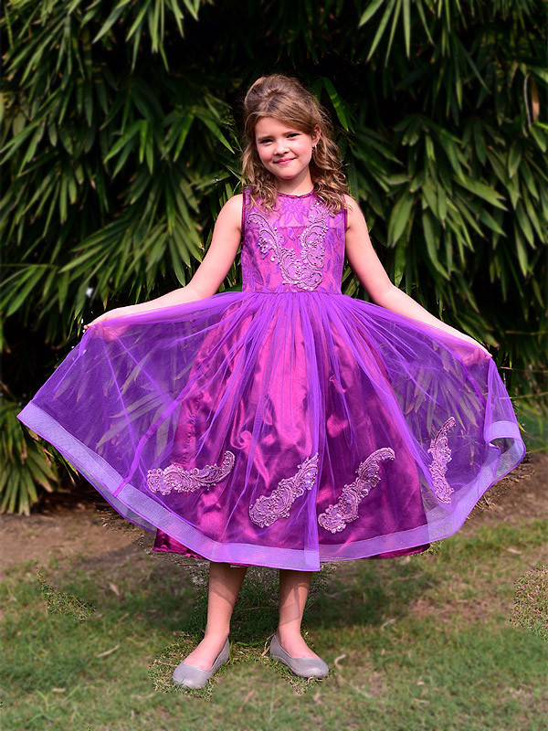 Destiny Dress Purple