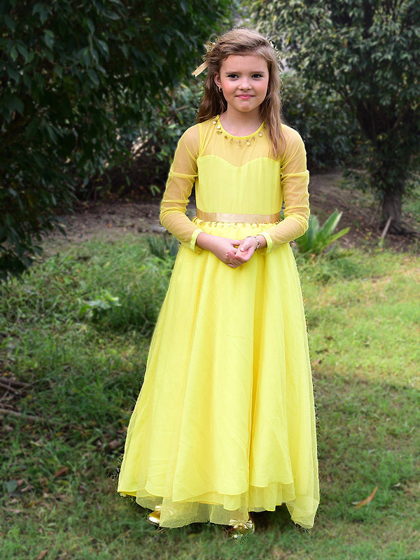 Taylor Gown LemonYellow