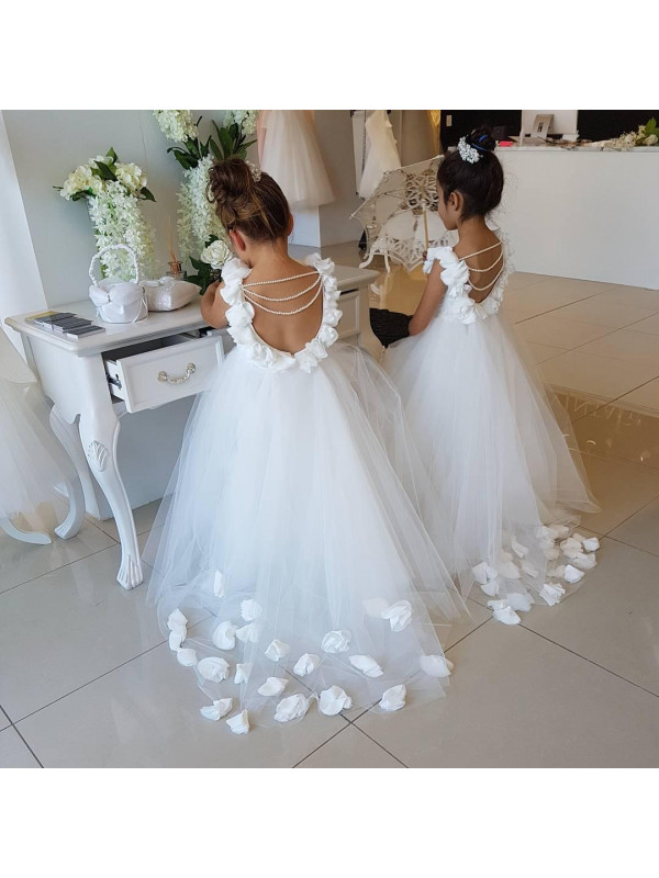 Zolindu Charlotte Young Princess White Gown