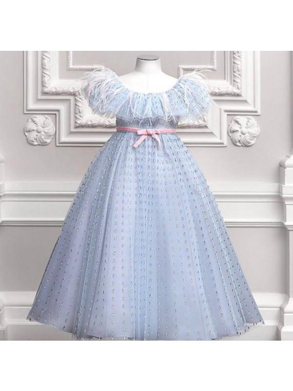 Diana Hand Embroidery Dress