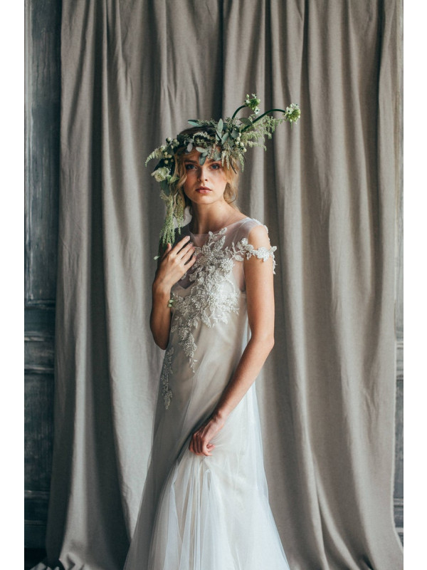 Zolindu Rhiannon Beaded Wedding Dress