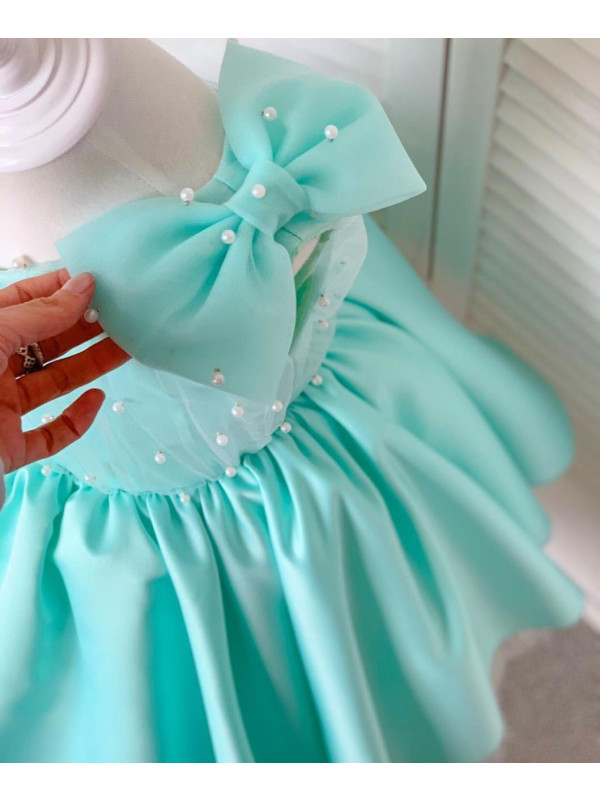 Heidi Sea green Pearl Dress