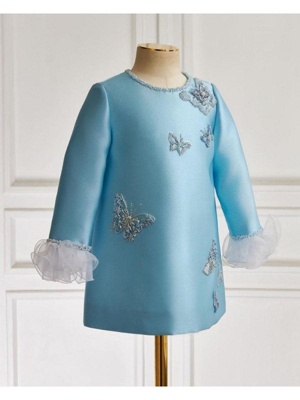 Mia Royalty Handembroidered Dress
