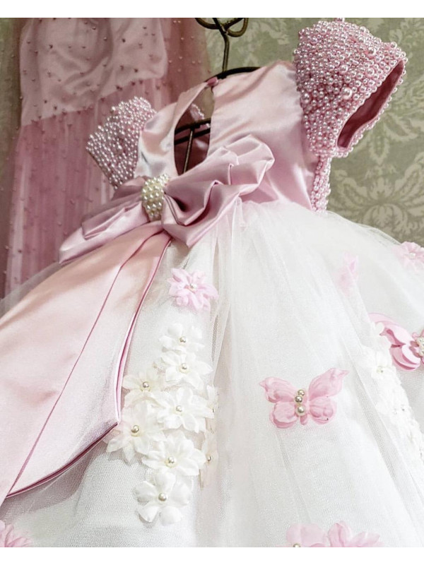 Mila Pink Luxe Gown
