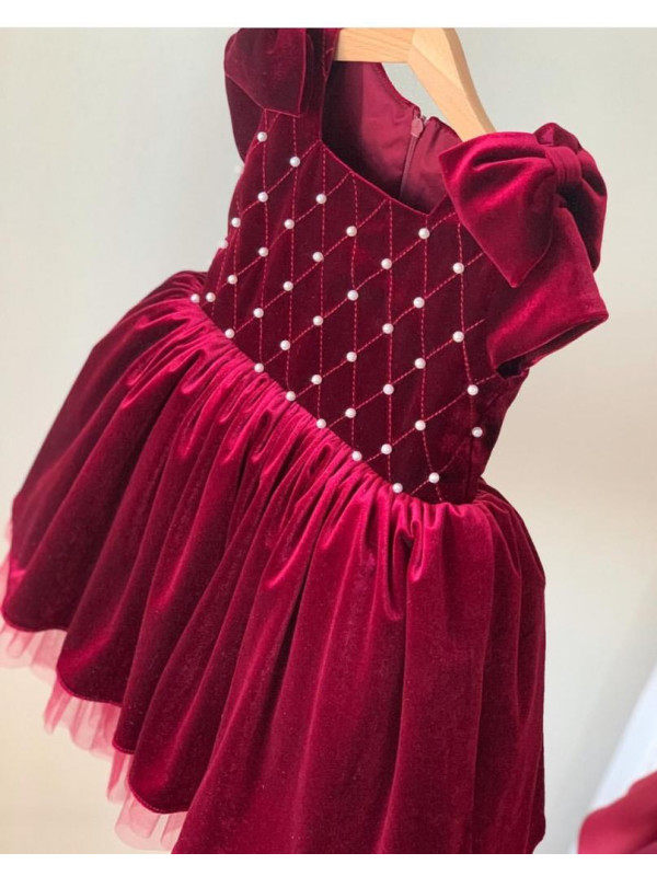Zolindu Romaana Red Baby Girls Dress