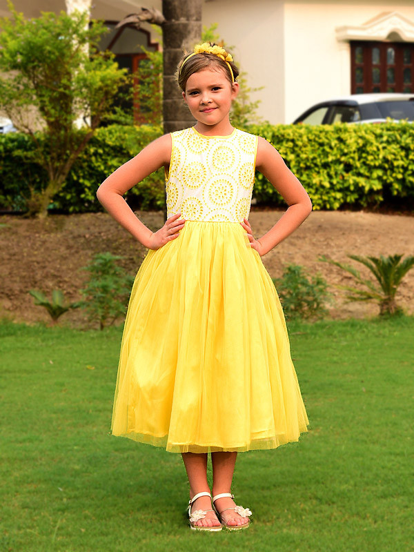 Kaitlyn Dress LemonYellow